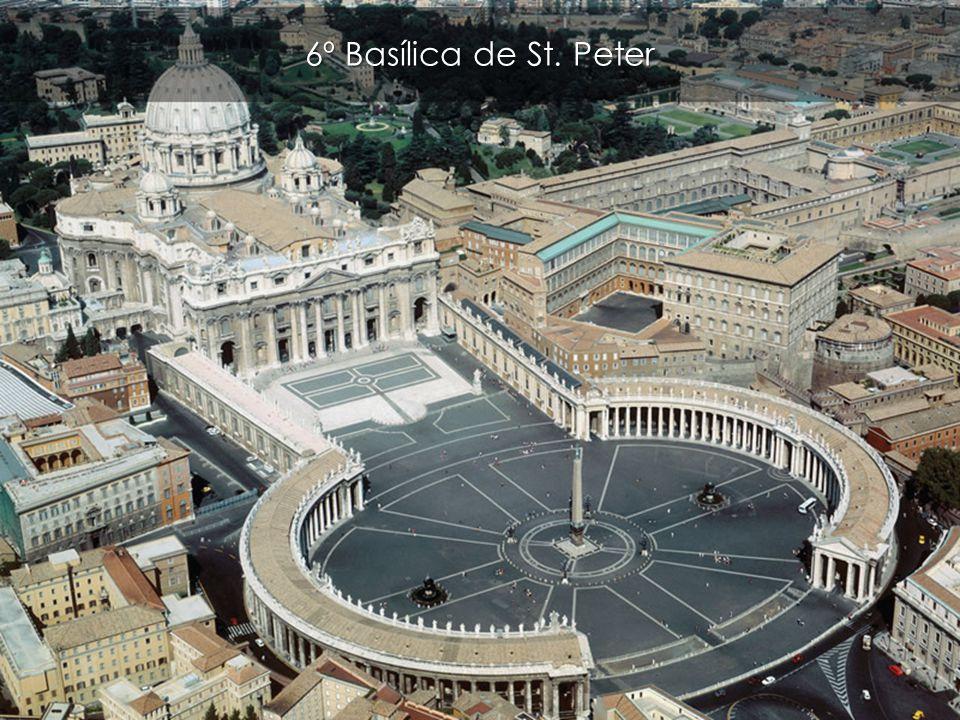 6º Basílica de St. Peter