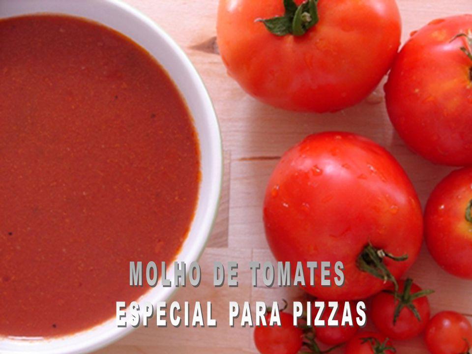 MOLHO DE TOMATES ESPECIAL PARA PIZZAS
