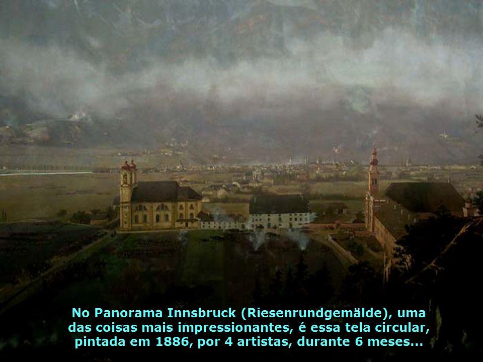 Innsbruck transmite paz, prazer, uma atmosfera de encanto, de segurança, onde pessoas passeiam, calmamente, pela cidade...