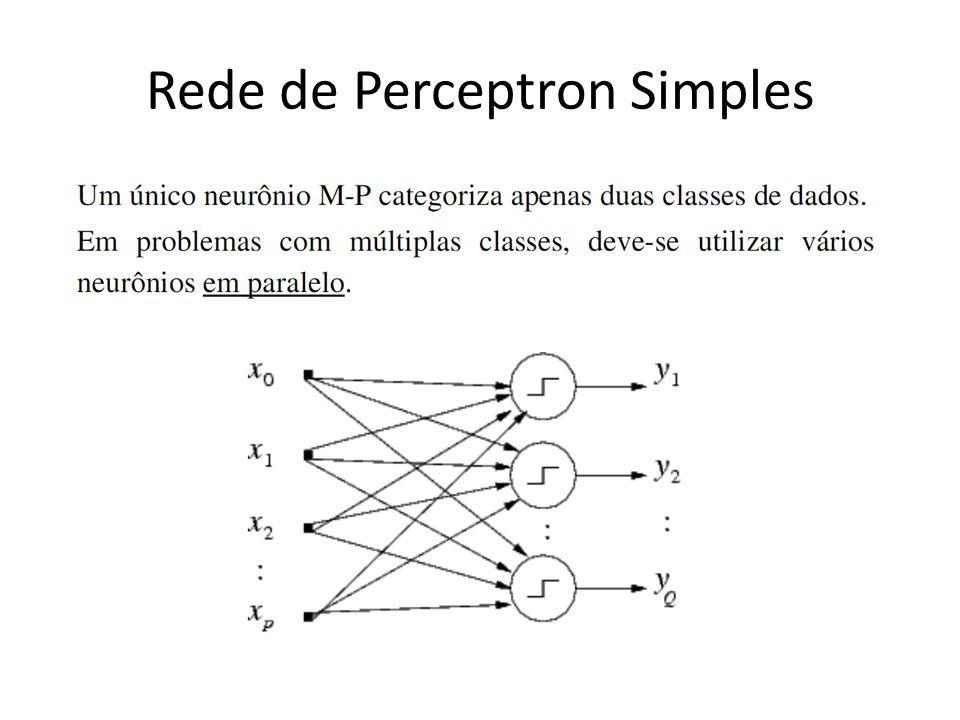 Rede de Perceptron Simples