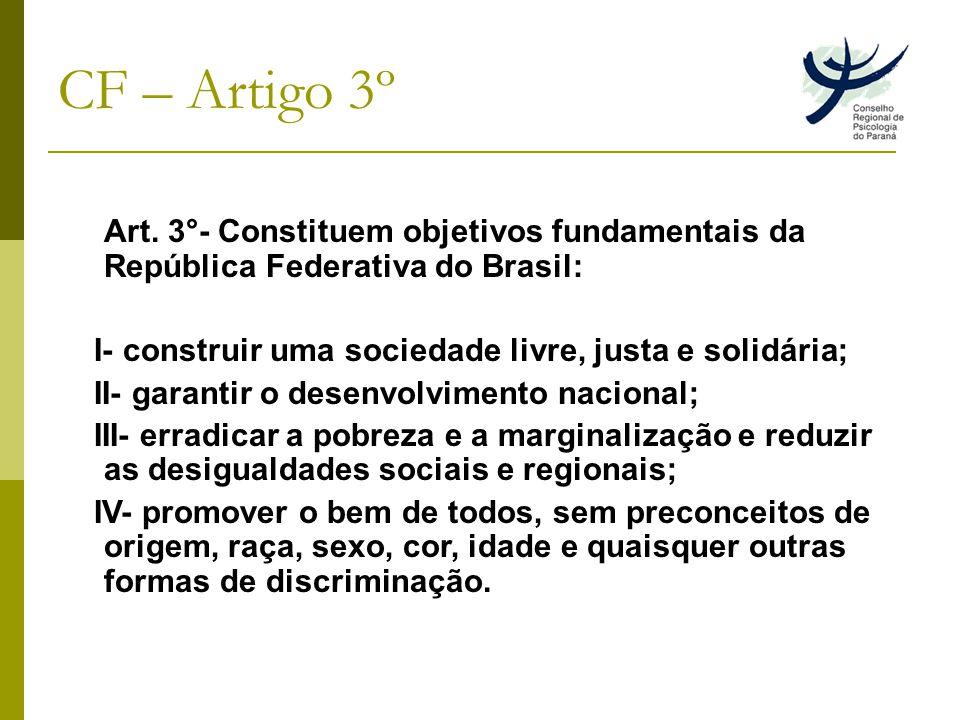 CF – Artigo 3º Art.