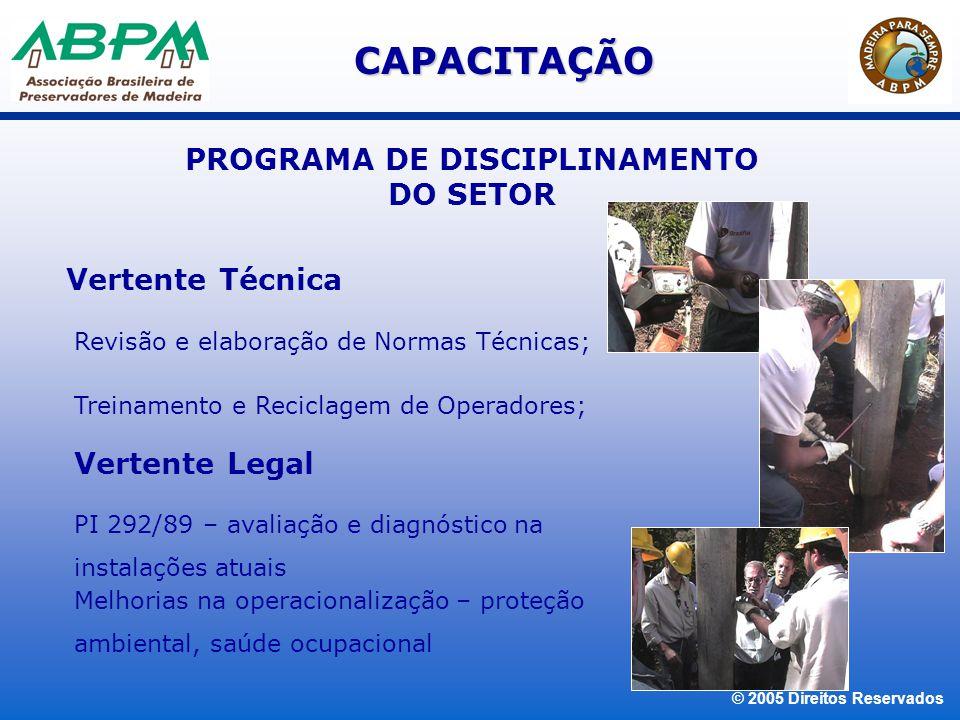 © 2005 Direitos Reservados PRODUTOS CLASSIFICADOS COMO PERIGOSO PARA O TRANSPORTE TERRESTRE DE ACORDO COM A RESOLUÇÃO 420/04 DA ANTT.