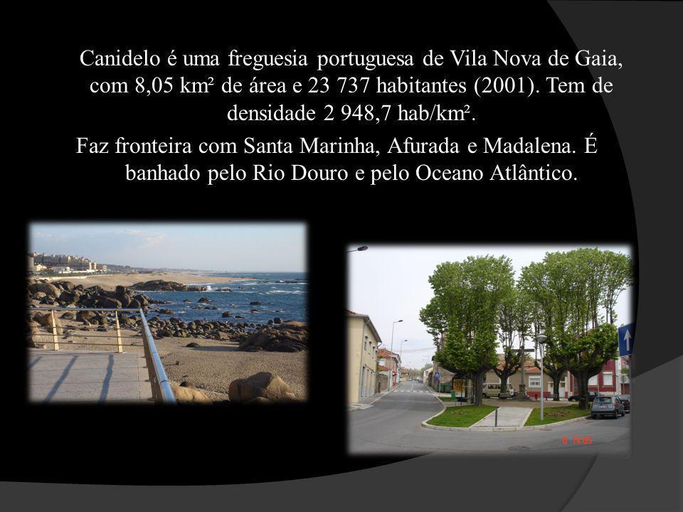 Canidelo é uma freguesia portuguesa de Vila Nova de Gaia, com 8,05 km² de área e 23 737 habitantes (2001). Tem de densidade 2 948,7 hab/km². Faz front