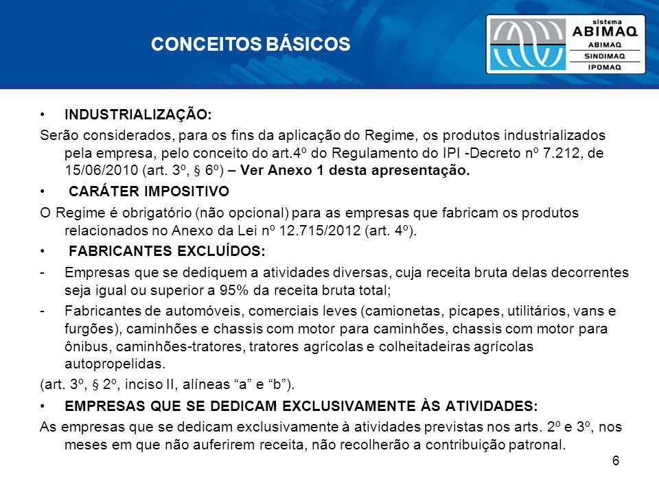 SIMULAÇÃO DE CÁLCULO (I) Vendas de produtos não relacionados = 0 Exportações = 20% 1.Receita bruta total = R$100.000 (já excluídas as vendas canceladas, os descontos concedidos, as reversões de provisões, o IPI e o ICMS de Substituição Tributária) –Receitas de vendas de produtos e serviços não relacionados no Anexo = 0 –Razão entre a receita bruta total e receita de bens não relacionados = 0% 2.Total da Folha (salário-base) = R$20.000 –Valor da contribuição sem a substituição = R$20.000 x 20% = R$4.000 3.Contribuição a ser calculada sobre a folha salarial: –Nenhuma 4.Contribuição a ser calculada sobre o faturamento: –Receita bruta de venda de produtos beneficiados = R$100.000 –Menos exportações (20%) = R$20.000 –Receita bruta para cálculo da contribuição = R$80.000 –Valor da contribuição = R$80.000 x 1% = R$800 5.Balanço: –Valor da contribuição antes da desoneração = R$4.000 (4% do faturamento) –Valor da contribuição com desoneração = R$800(0,8% do faturamento) –Resultado = economia deR$3.200 (3,2% do faturamento) 17