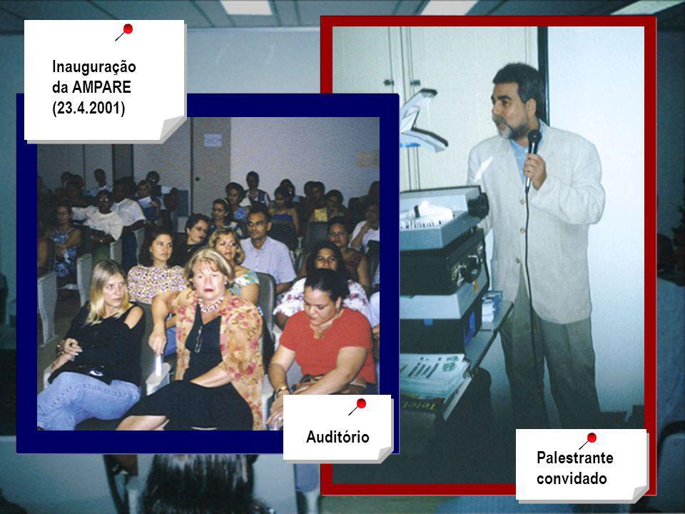 Palestrante convidado Auditório Inauguração da AMPARE (23.4.2001)