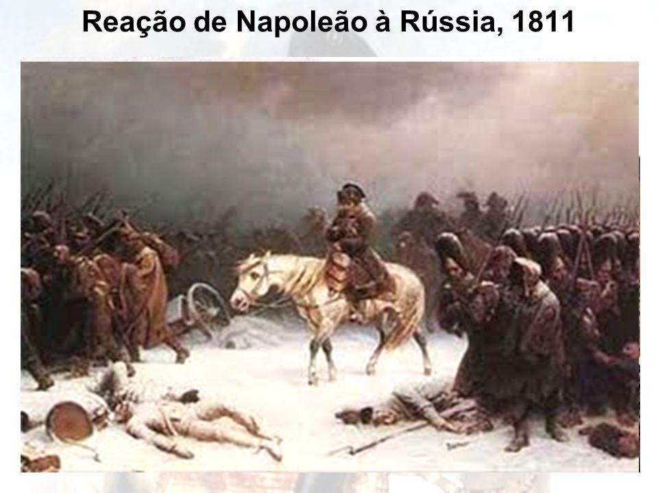 Reação de Napoleão à Rússia, 1811 Alexandre I