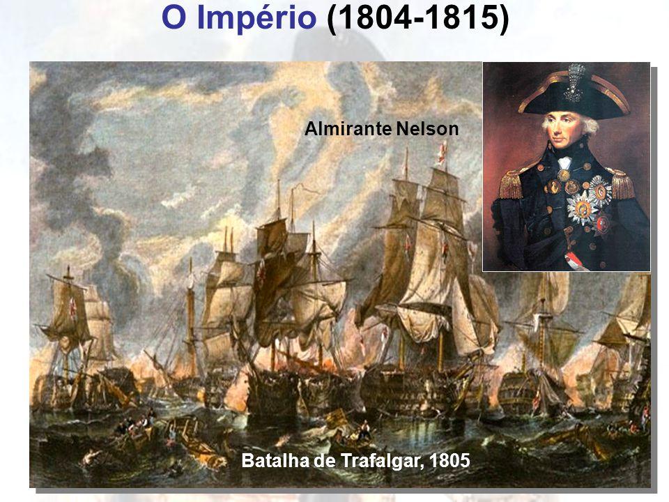 O Império (1804-1815) Batalha de Trafalgar, 1805 Almirante Nelson
