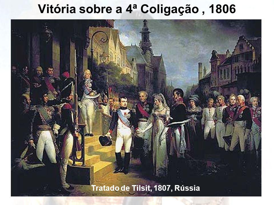 Vitória sobre a 4ª Coligação, 1806 Tratado de Tilsit, 1807, Rússia