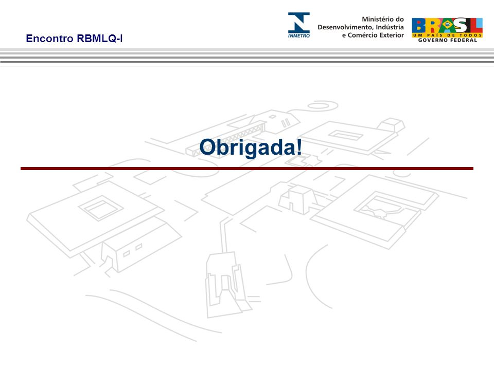 Encontro RBMLQ-I Obrigada!
