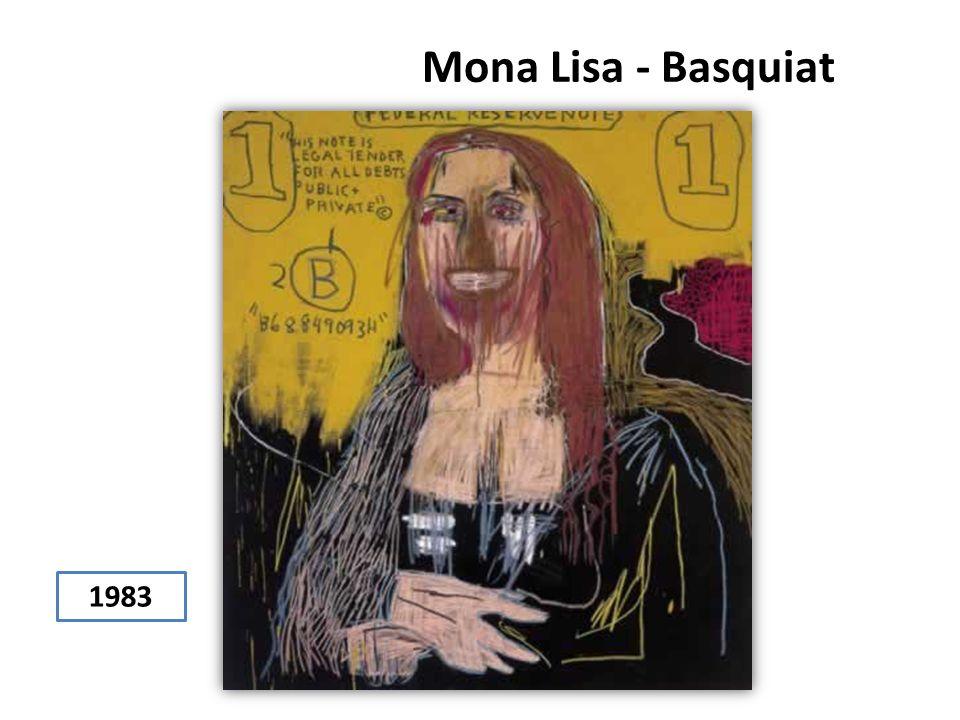 Mona Lisa - Basquiat 1983