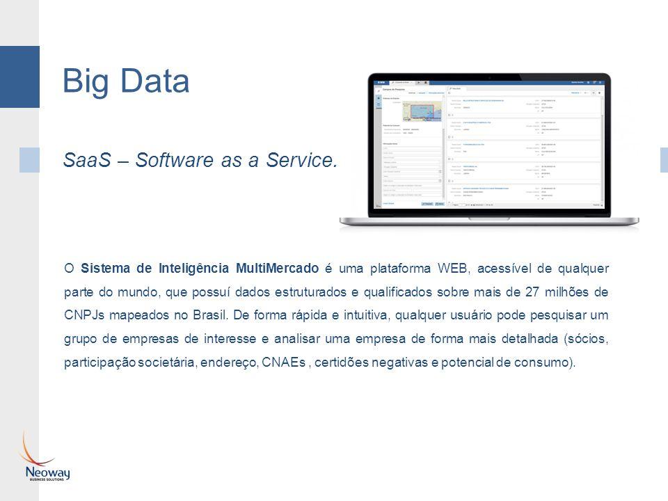 O Sistema de Inteligência MultiMercado é uma plataforma WEB, acessível de qualquer parte do mundo, que possuí dados estruturados e qualificados sobre