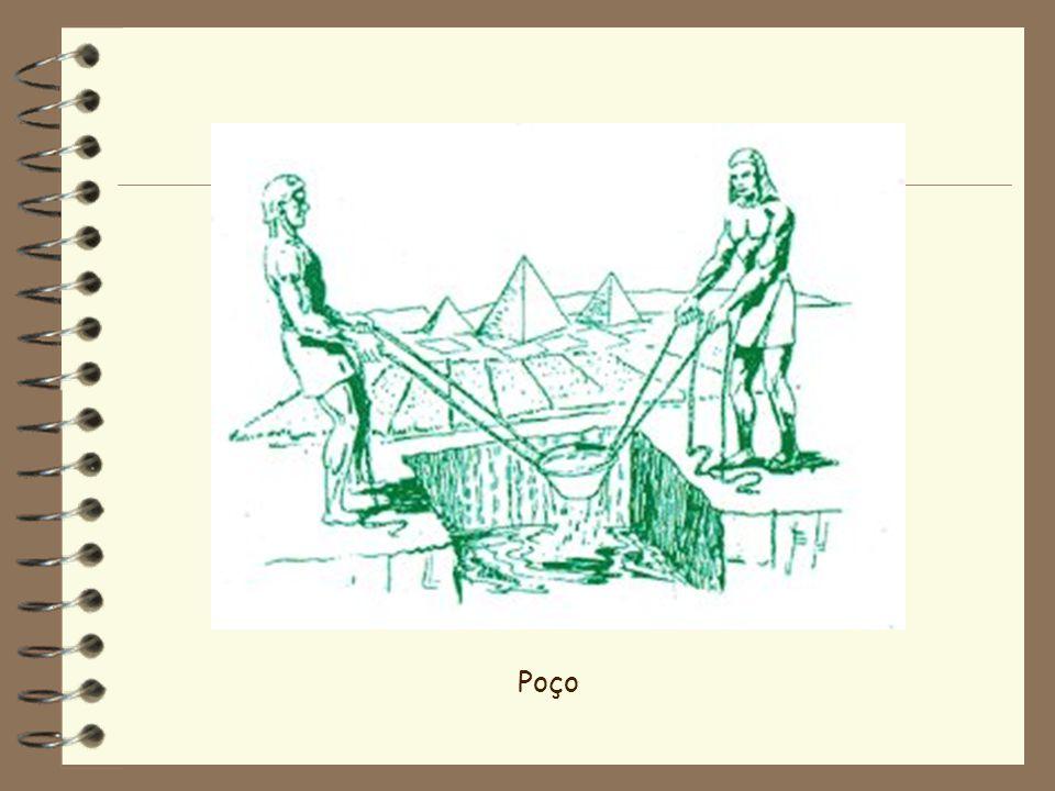 O sarilho e dispositivos semelhantes eram utilizados para aumentar a rapidez da retirada da água dos poços.