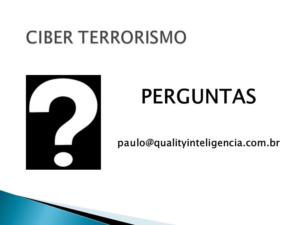 PERGUNTAS paulo@qualityinteligencia.com.br
