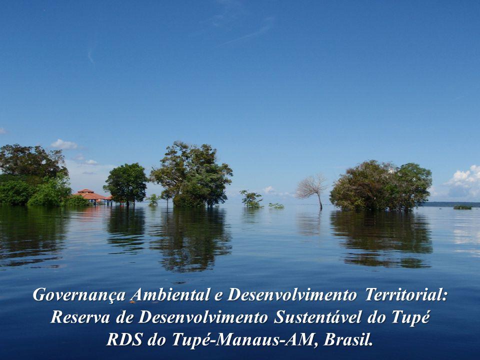 Governança Ambiental e Desenvolvimento Territorial: Reserva de Desenvolvimento Sustentável do Tupé RDS do Tupé-Manaus-AM, Brasil.