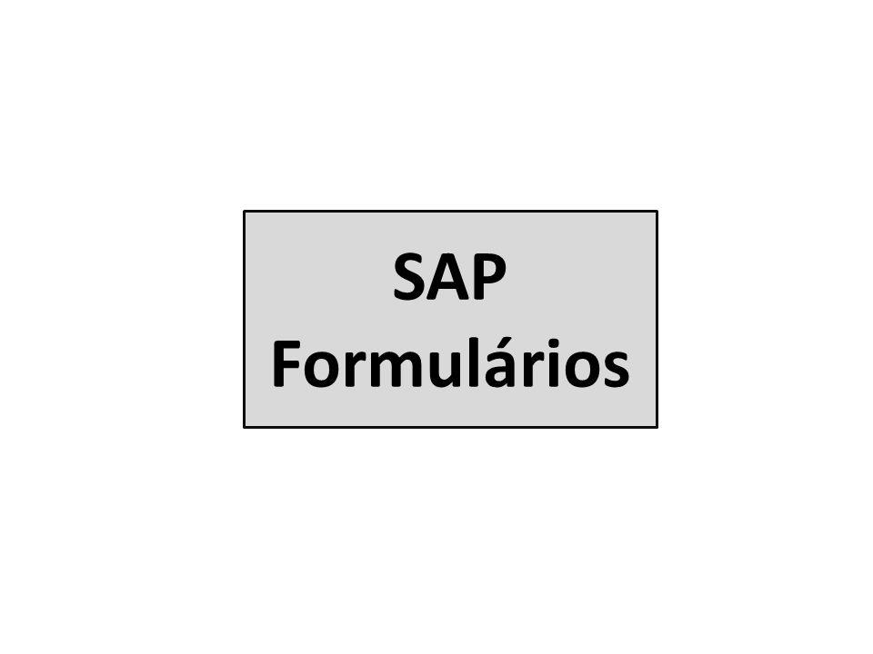SAP Formulários