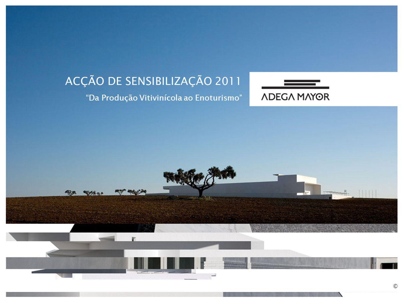 ACÇÃO DE SENSIBILIZAÇÃO 2011 Da Produção Vitivinícola ao Enoturismo ©