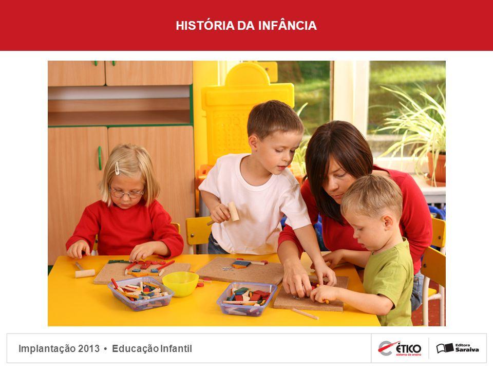 Implantação 2013 Educação Infantil IDENTIDADE DA CRIANÇA O nome traz mais do que uma grafia específica, ele traz também uma história, um significado.