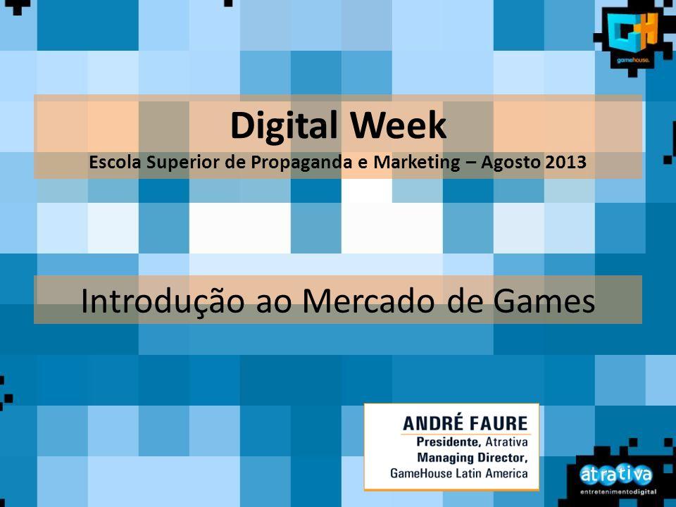 Introdução ao Mercado de Games Digital Week Escola Superior de Propaganda e Marketing – Agosto 2013