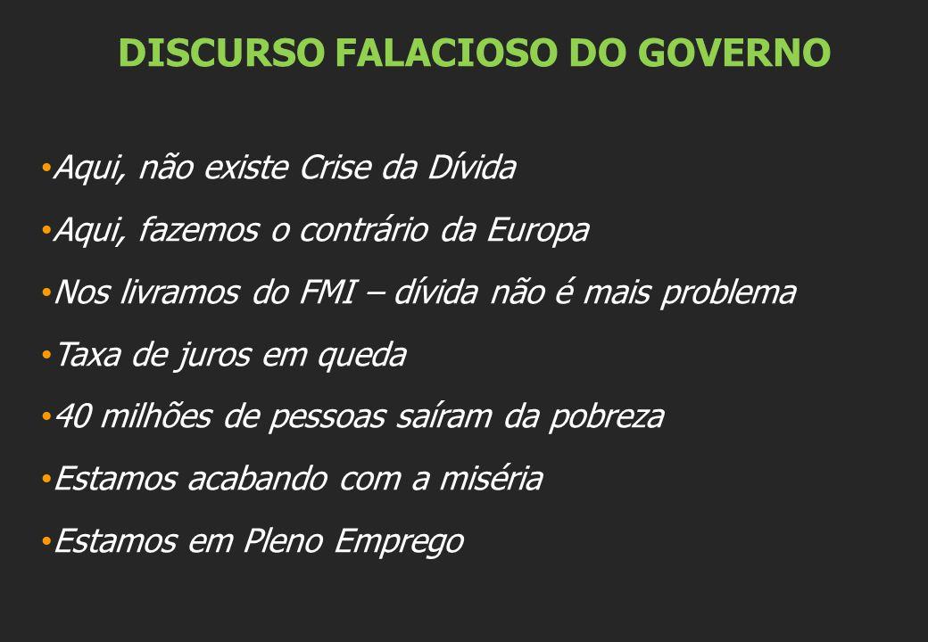 Capítulos: O Brasil é um dos países mais ricos do mundo Desigualdade social e desrespeito aos direitos humanos no Brasil Modelo Econômico equivocado e injustiça social A dívida pública brasileira Dívida Externa Dívida Interna Dívida dos Estados O Sistema da Dívida Auditoria Iniciativas Internacionais de Auditoria da Dívida Crise da Dívida na Europa e EUA Precisamos reforçar essa luta.
