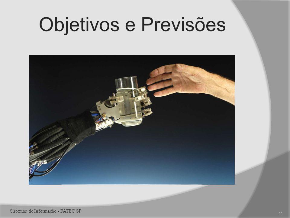 Objetivos e Previsões 22 Sistemas de Informação - FATEC SP