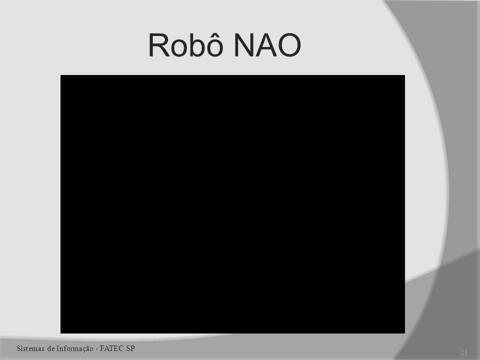 Robô NAO 25 Sistemas de Informação - FATEC SP
