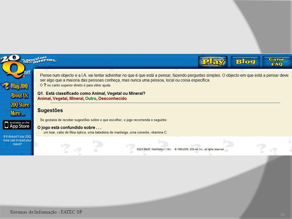 29 Sistemas de Informação - FATEC SP