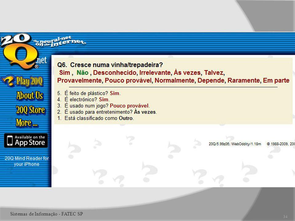 34 Sistemas de Informação - FATEC SP