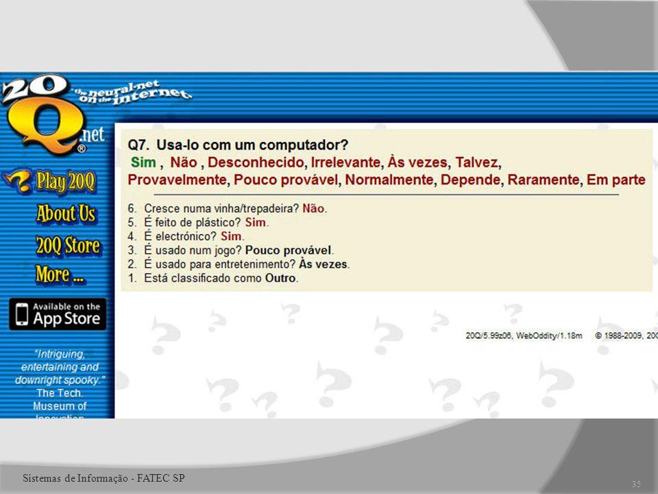 35 Sistemas de Informação - FATEC SP