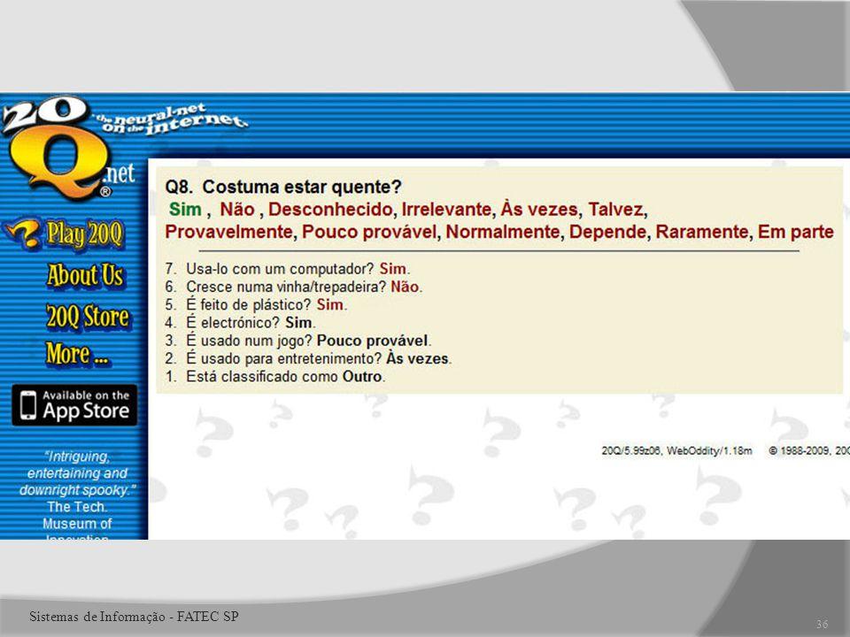 36 Sistemas de Informação - FATEC SP