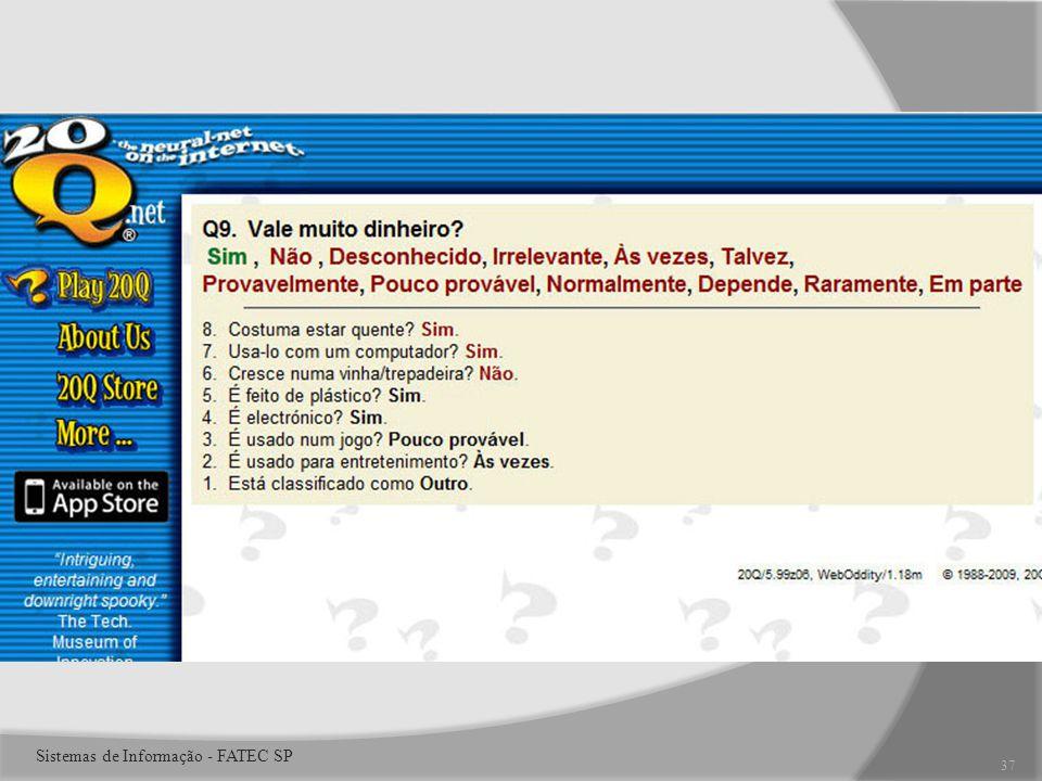 37 Sistemas de Informação - FATEC SP