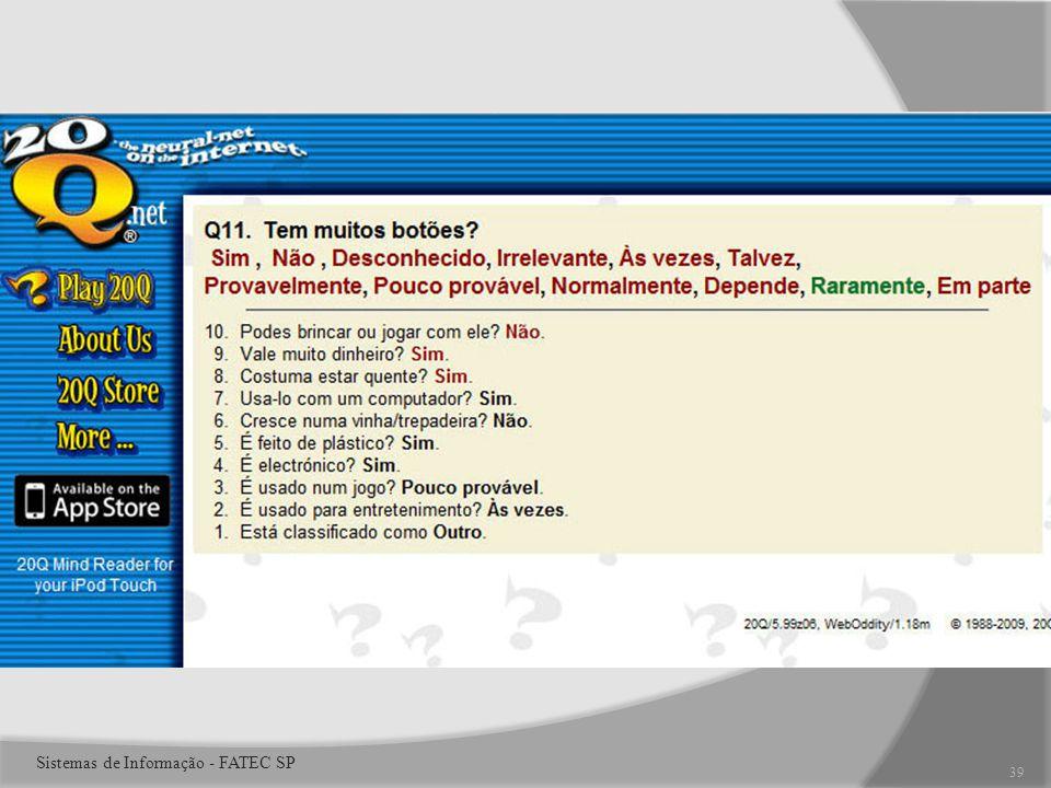 39 Sistemas de Informação - FATEC SP