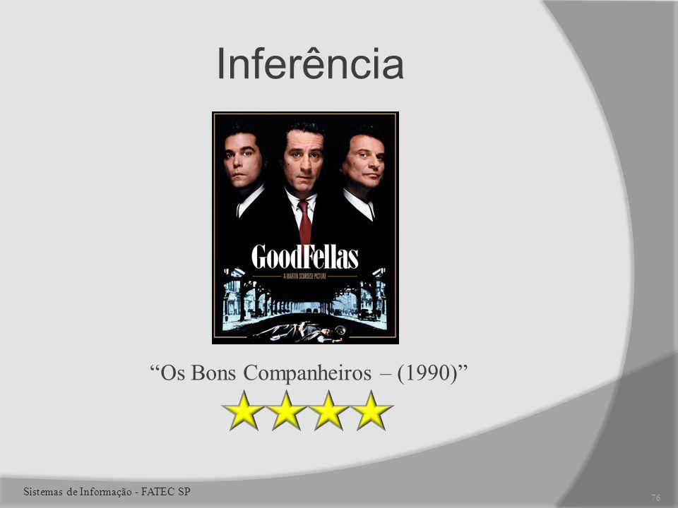 Inferência Os Bons Companheiros – (1990) 76 Sistemas de Informação - FATEC SP