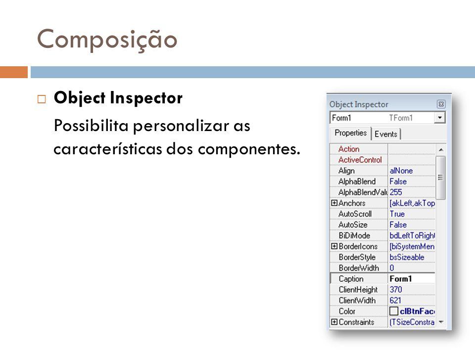 Projeto em Delphi ExtensãoTipo e DescriçãoCriaçãoNecessário compilar ?.DPRArquivo do projetoDesenvolvimentoSIM.PASCódigo fonte da UnitDesenvolvimentoSIM.DFMArquivo gráfico do formulárioDesenvolvimentoSIM.EXEArquivo executávelCompilaçãoNÃO