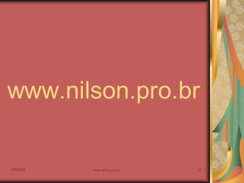 17/6/2014 www.nilson.pro.br19