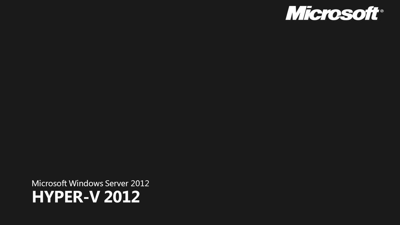A função do Hyper-V permite criar e gerenciar um ambiente de computação virtualizado, usando a tecnologia de virtualização interna do Windows Server 2012.