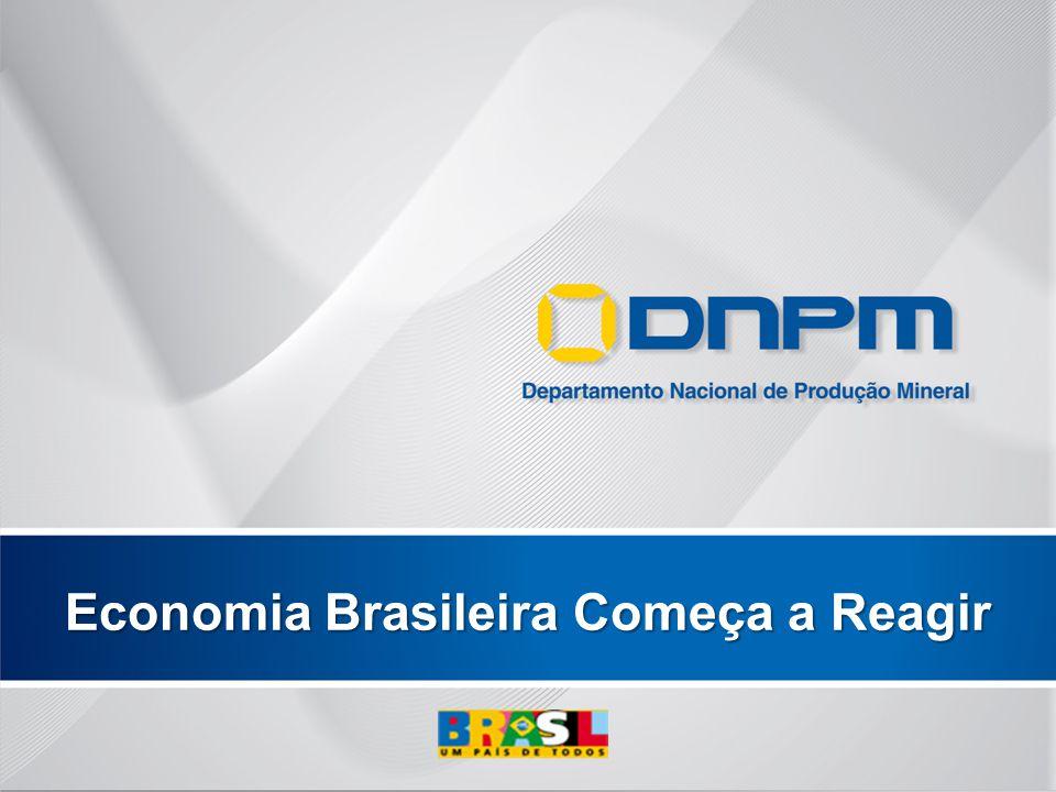 Economia Brasileira Começa a Reagir