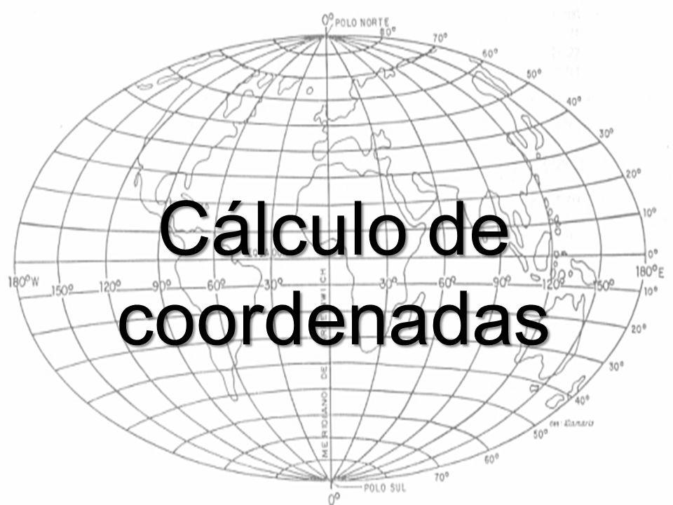 Cálculo de coordenadas
