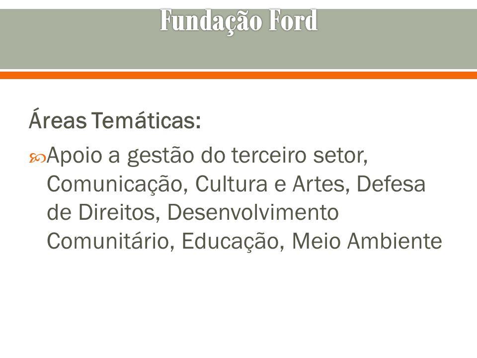 Áreas Temáticas: Apoio a gestão do terceiro setor, Comunicação, Cultura e Artes, Defesa de Direitos, Desenvolvimento Comunitário, Educação, Meio Ambie