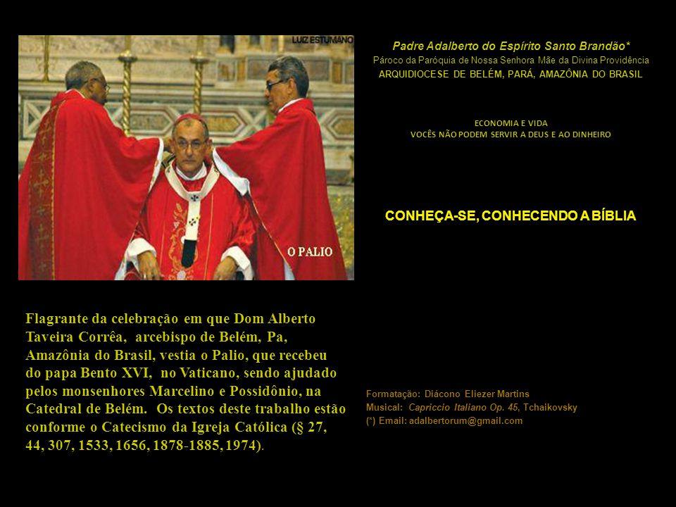 Flagrante da celebração em que Dom Alberto Taveira Corrêa, arcebispo de Belém, Pa, Amazônia do Brasil, vestia o Palio, que recebeu do papa Bento XVI,
