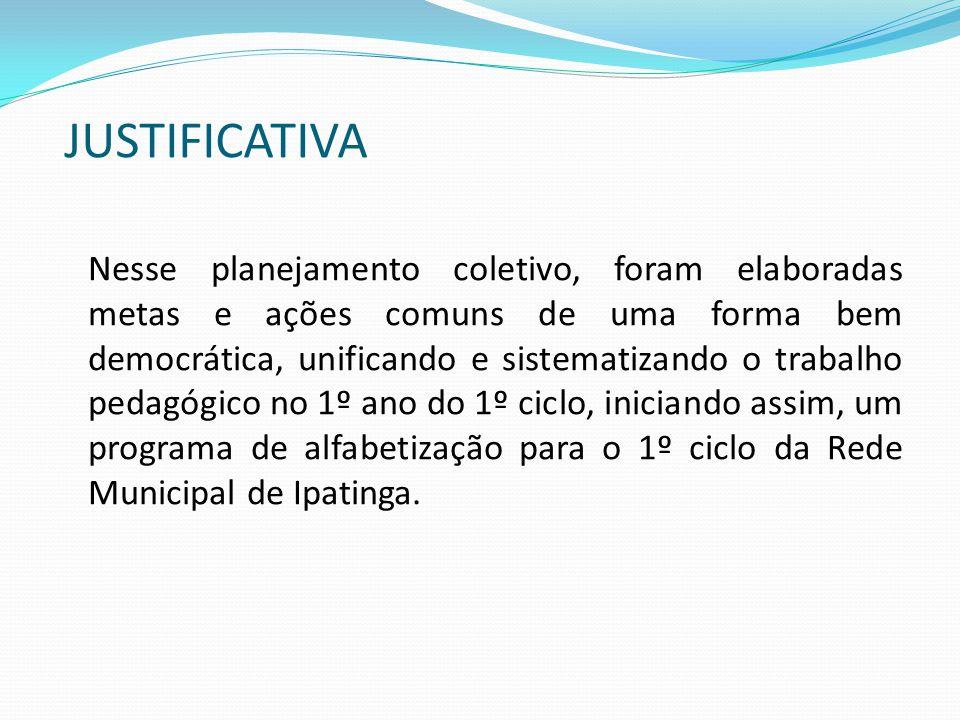 P M C G H E.R E.F. I/A Desenvolvimento Integral do educando PLANEJAMENTO 2012