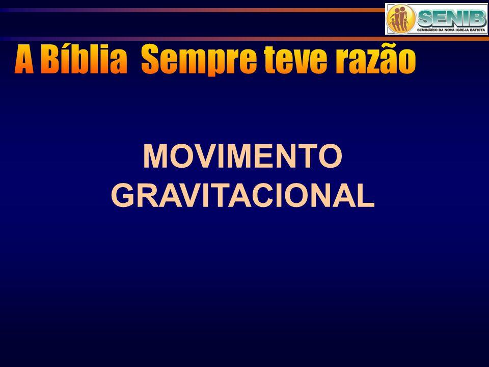 MOVIMENTO GRAVITACIONAL