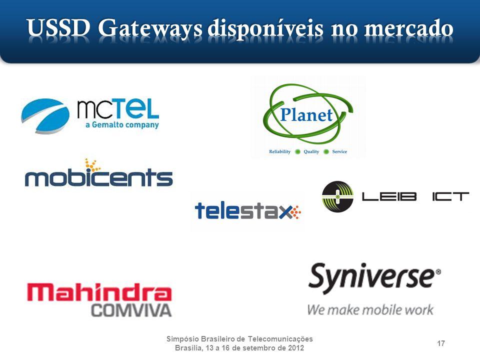 Simpósio Brasileiro de Telecomunicações Brasília, 13 a 16 de setembro de 2012 17