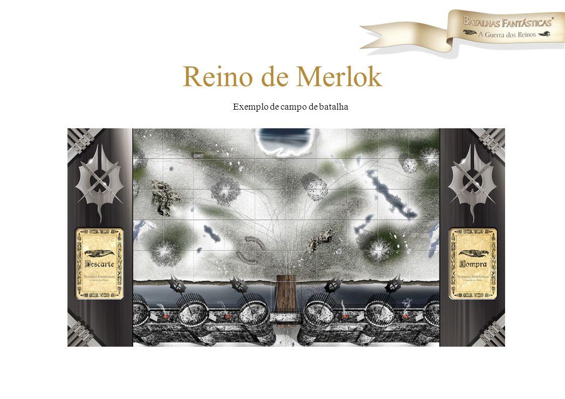 Exemplo de campo de batalha Reino de Merlok