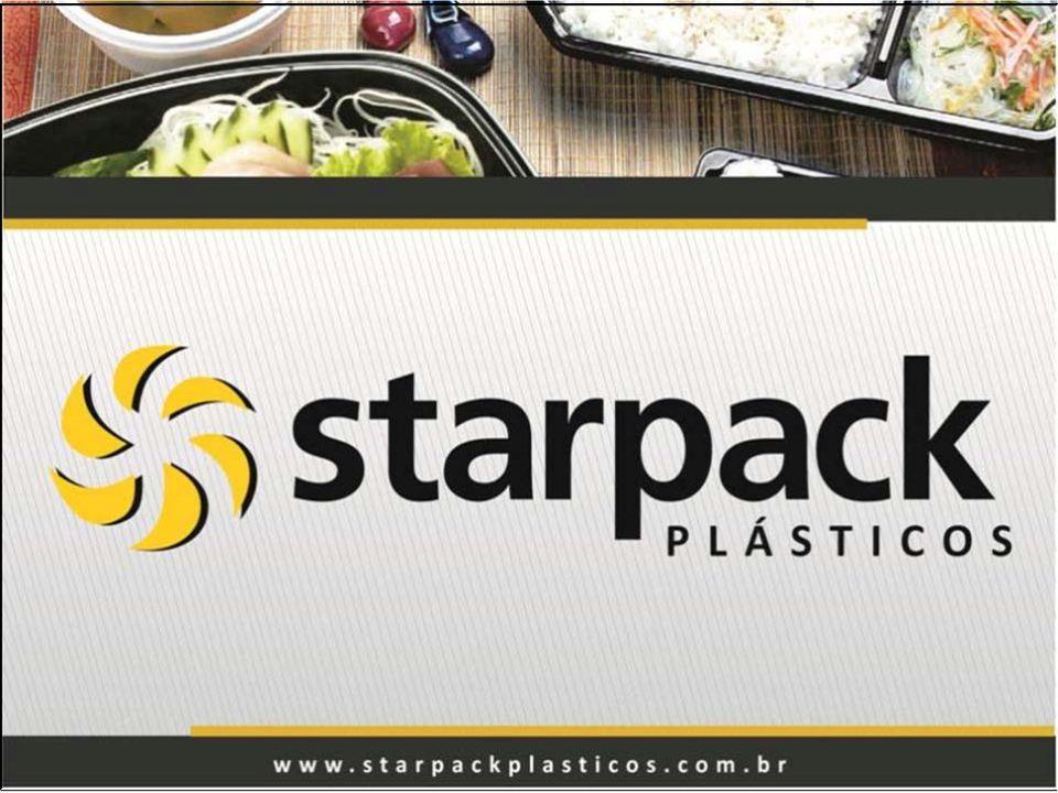 Atuante no mercado desde 1988 a Starpack Plásticos possui tradição e qualidade sendo líder em inovação no mercado de embalagens plásticas; Possui uma gama e diversidade enorme de produtos, contando com 10 linhas que totalizam mais de 300 ítens; A Starpack procura sempre investir em funcionalidade, beleza, estilo, modernidade, além de praticidade no manuseio e empilhamento de seus produtos; Garantimos confiabilidade tanto nos materiais como nos processos de fabricação.