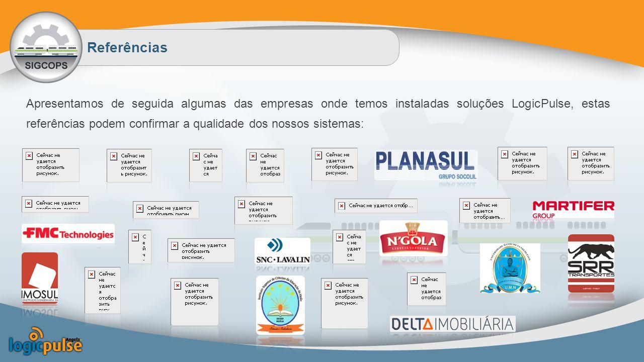 Apresentamos de seguida algumas das empresas onde temos instaladas soluções LogicPulse, estas referências podem confirmar a qualidade dos nossos sistemas: Referências