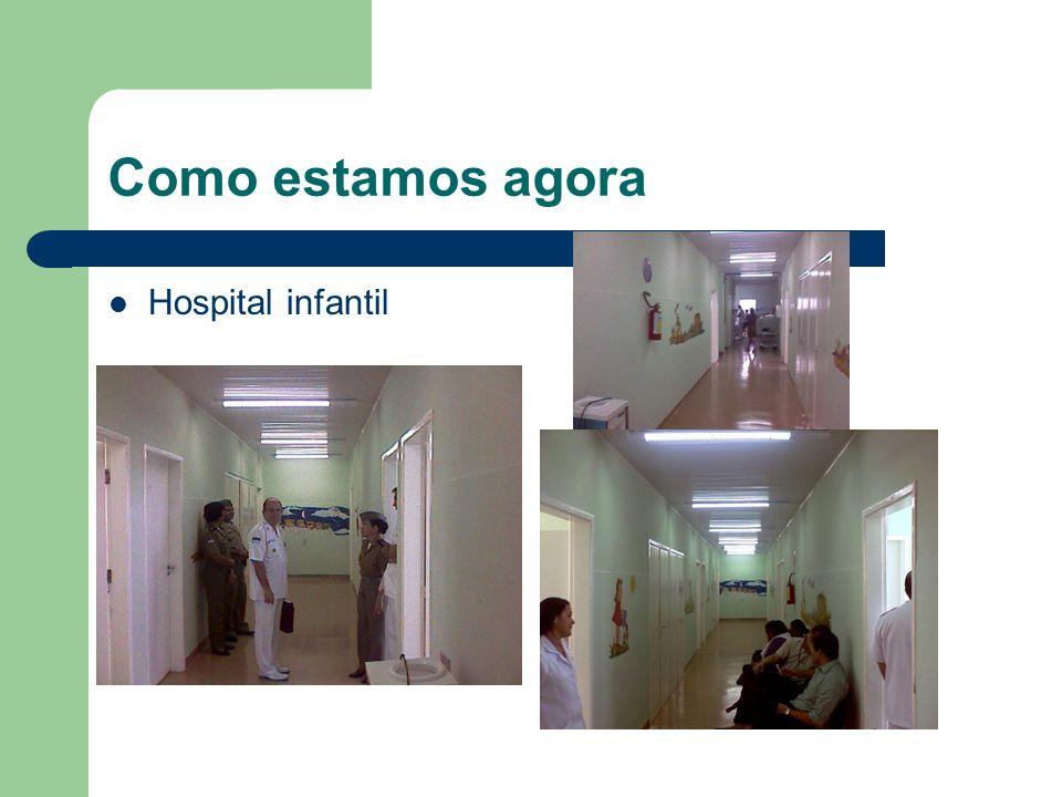 Como estamos agora Hospital infantil