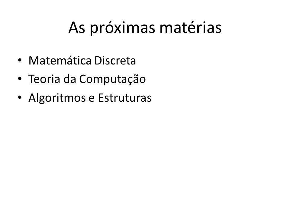 Os outros pontos têm a ver com Conseguimos descrever qualquer processo usando uma linguagem como as de programação? Dado que retorna uma solução, o te