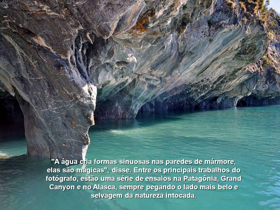 Em seu livro sobre as cavernas, Light Blue, Linde Waindehofer fala sobre o encanto que o local lhe proporcionou.