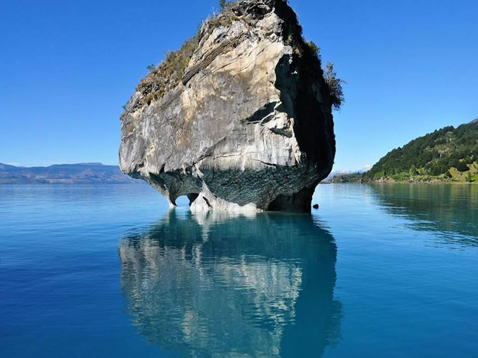 É de imaginar que algo possa por em perigo essas raras cavernas azuis? Sim! O Chile tem planos de construir cinco represas hidroelétricas na Patagônia