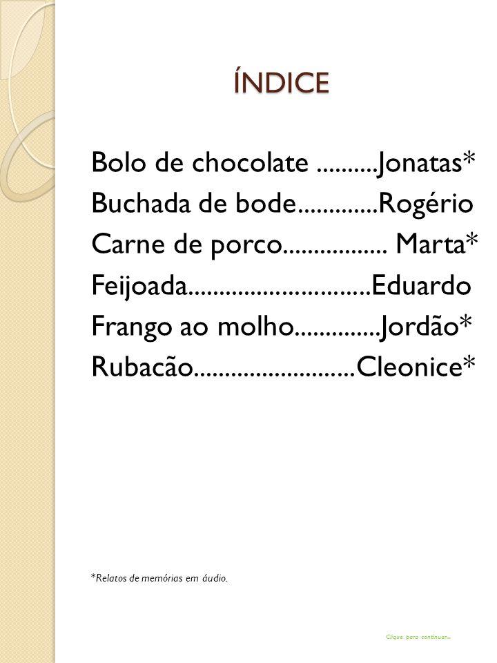 BOLO DE CHOCOLATE INGREDIENTES: MASSA 1 XÍCARA(S) (CHÁ) DE LEITE MORNO(A) 3 UNIDADE(S) DE OVO 4 COLHER(ES) (SOPA) DE MARGARINA QUALY SADIA DERRETIDA(S) 2 XÍCARA(S) (CHÁ) DE AÇÚCAR 1 XÍCARA(S) (CHÁ) DE CHOCOLATE EM PÓ 2 XÍCARA(S) (CHÁ) DE FARINHA DE TRIGO 1 COLHER(ES) (SOPA) DE FERMENTO QUÍMICO EM PÓSADIA COBERTURA 1 XÍCARA(S) (CHÁ) DE AÇÚCAR 3 COLHER(ES) (SOPA) DE AMIDO DE MILHO 5 COLHER(ES) (SOPA) DE CHOCOLATE EM PÓ 1 XÍCARA(S) (CHÁ) DE ÁGUA QUANTO BASTE DE SAL 3 COLHER(ES) (SOPA) DE MARGARINA QUALY SADIA 1 COLHER(ES) (CHÁ) DE ESSÊNCIA DE BAUNILHASADIA PREPARO DA MASSA: BATA BEM TODOS OS INGREDIENTES DA MASSA NO LIQÜIDIFICADOR.